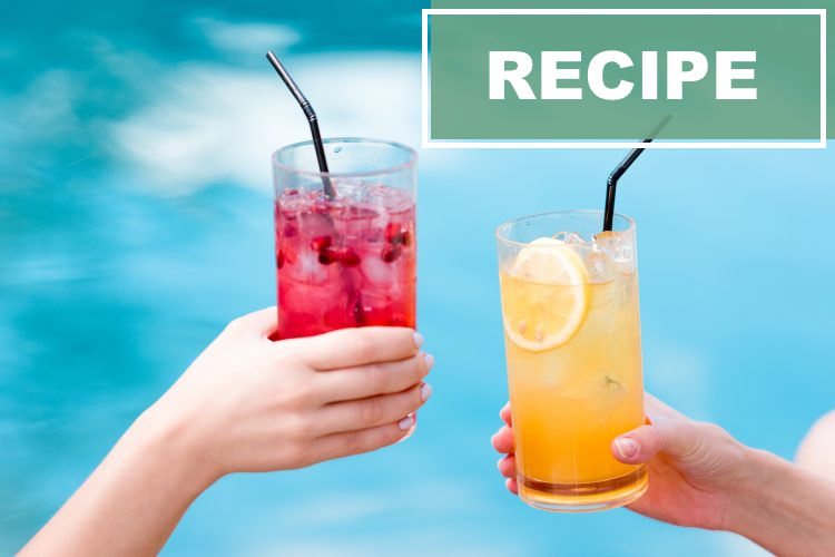 Cool down with these refreshing DIY drinks!